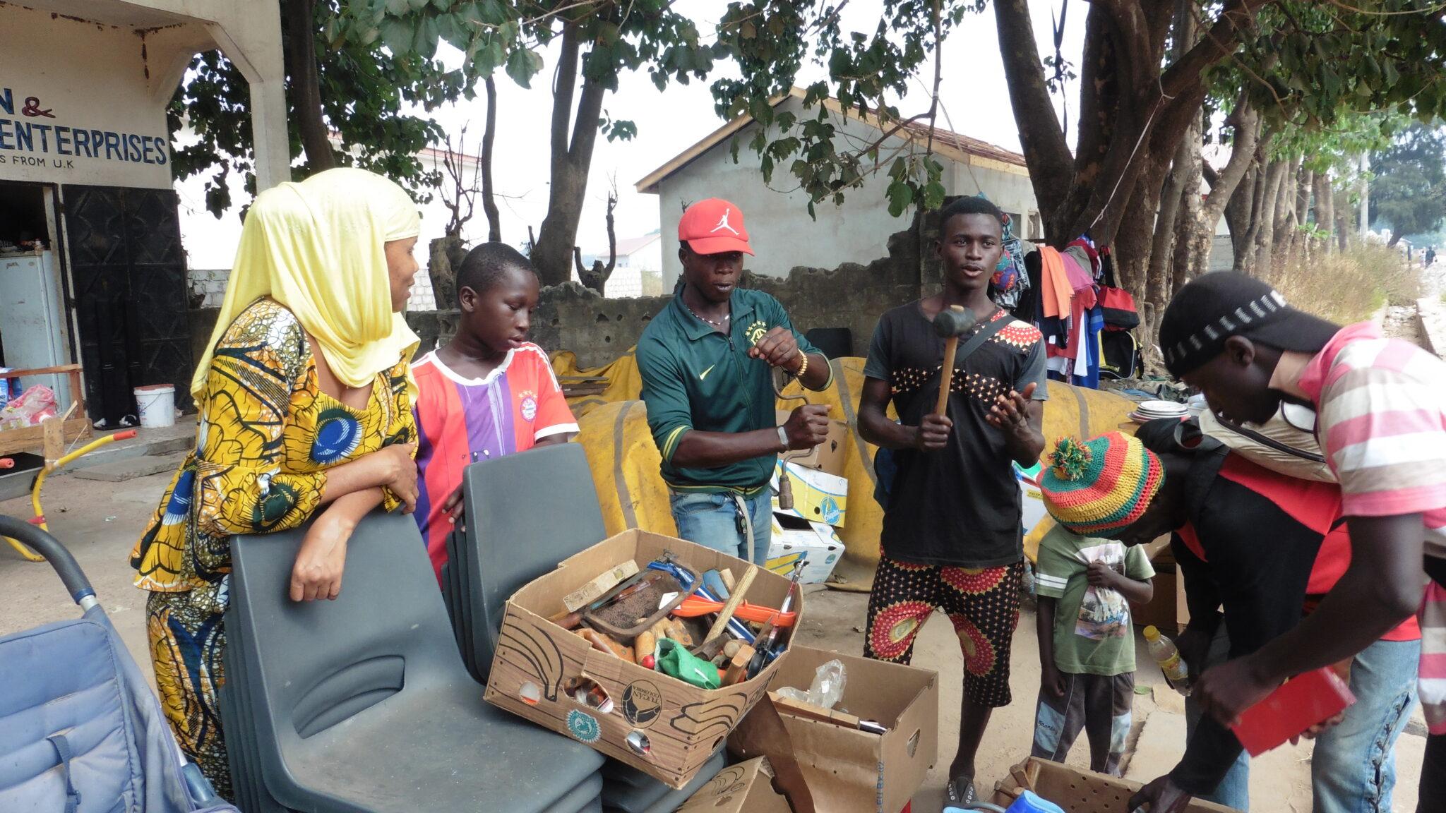 geven voor Gambia